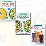 Carbs & Cals Collection Chris Cheyette 3 Books Bundle (Soups: 80 Healthy Soup Recipes & 275 Photos of Ingredients to Create Your Own!, Salads: 80 Healthy Salad Recipes & 350 Photos of Ingredients to Create Your Own!, Smoothies: 80 Healthy Smoothie Recipes & 275 Photos of Ingredients to Create Your Own!)