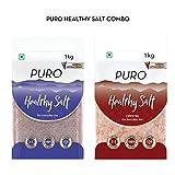 #10: Puro Healthy Salt combo (Fine+ Crystal)- 1Kg Pack of 2