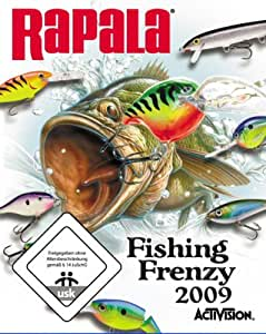 Rapala fishing frenzy 2009 playstation 3 games for Ps4 bass fishing games
