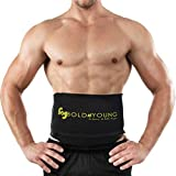 Dreams Sweat Belt Premium Fat Burner Slimming Belt For Men & Women (Free Size, Black)