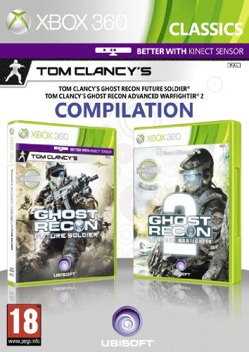 GHOST RECON ADVANCED WARFIGHTER 2 & GHOST RECON FUTURE SOLDIER DOUBLE PACK XBOX EN EU PEGI