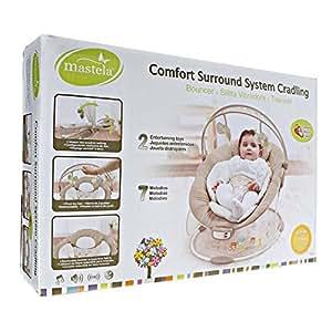 Mastela Comfort Surround System Cradling - 6848 (Brown)