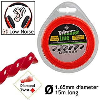 SPARES2GO 1.65mm Low Noise Strimmer Line Spool Refil for Qualcast GT GGT and CGT series Strimmers