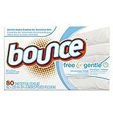 Bounce Dryer Sheets - Trocknertücher - Free & Sensitive - 80 Tücher - aus USA