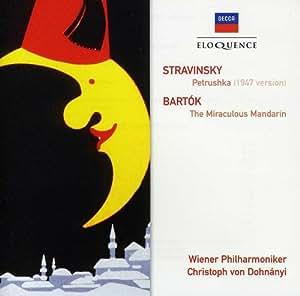 Stravinsky : Petrouchka ; Bartok : Le Mandarin Merveilleux [Australia] [Import anglais]