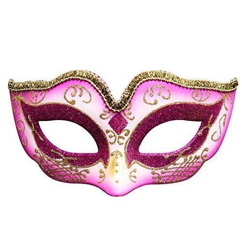 Kostüm Dance Holiday Christmas - QTJKH Horror Maske Venezianische Maskerade Party Eye Mask Venice Masks Festive Masquerade Mask Christmas Halloween Venetian Costumes@B