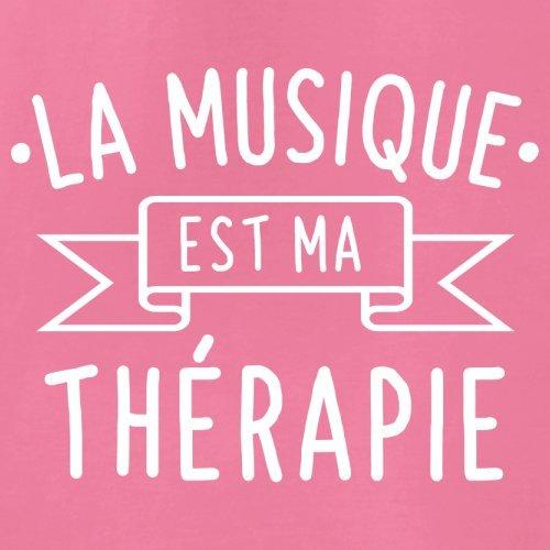 La musique est ma thérapie - Femme T-Shirt - 14 couleur Azalée