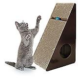 WCG Deluxe Cat Scratcher Corrugated, Protege Tus Muebles Y Mejor con Catnip