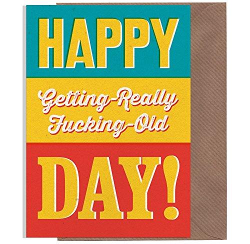 tstagskarte, Lustige Geburtstagskarte, witzige Grußkarte, Rude Erwachsene Geburtstag Karten, Offensive Grußkarten (Lustig Pimp)