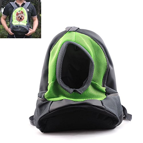 aokur – mochila para transportar perros y gatos, bolso de viaje para transportar yorkie, chihuahua