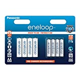 Panasonic Eneloop AA + AAA Eneloop Combination NiMH Ready to Use...