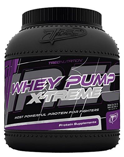 Trec Nutrition Whey Pump Extreme Molkenprotein Schnellere Regeneration Mit Kreatin Und AAKG Supplement Bodybuilding 1800g (Chocolate Coconut - Schokolade Kokosnuss)