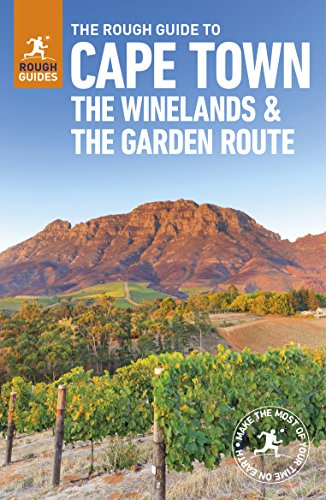 Cape Town, The Winelands And The Garden Route Rough (Rough Guides) por Vv.Aa