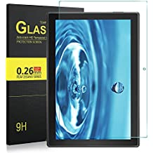 Lenovo Tab4 10 Cristal Templado Protector, IVSO Lenovo Tab4 10 Ultra Con [Crystal Claridad] [Resistente a las rayaduras] [No-burbuja Instalación simple] HD Flim Tempered Glass Screen Protector para Lenovo TAB 4 10 / Lenovo TAB4 10 (No para Lenovo TAB 4 X103F) - Tablet (1 Pack)