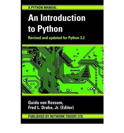 [(An Introduction to Python )] [Author: Guido Van Rossum] [Mar-2011]