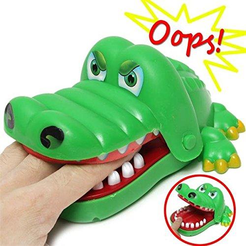 Moppi Kind Kind Krokodil Mund Zahnarzt Bissen Alligator Zahn Halloween Spannende Finger Spiel Spielzeug Familie