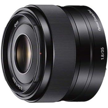 Sony SEL35F18 Obiettivo con focale fissa E 35 mm F1.8 OSS, Nero