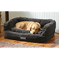 Orvis Comfortfill Couch Dog Bed / Medium Dogs Up To 40-60 Lbs., Slate