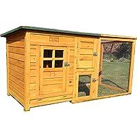 FeelGoodUK Cube Chicken Coop & Run, 160 x 75 x 80 cm