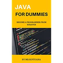 Java a Dummies Guide: All-in-One For Beginners (For Dummies (Computers))