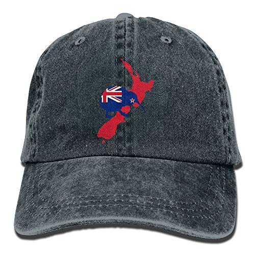 Preisvergleich Produktbild SunRuMo Kiwi of New Zealand Cotton Denim Adjustable Unisex Cricket Cap for Men Women