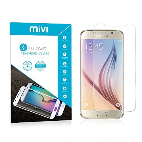 Mivi Military Grade Anti-Scratch Tempered Glass Screen Guard for Samsung Galaxy S6