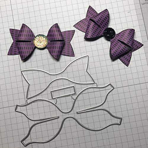 Metallstanzformen, 3D-Schleife, Hochzeit, Scrapbooking, Briefumschlag, Kuvert, Klinge Rahmen, Hintergrund Prägung siehe abbildung