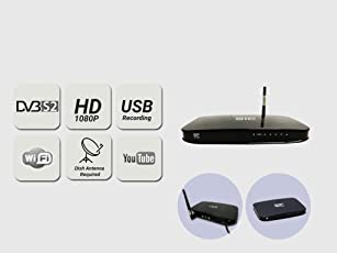 STC Free To Air D2H Satellite Receiver- HD Recording -H-700
