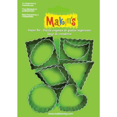 Makin's USA Metal Clay Cutters-Crinkle