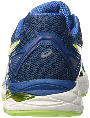 Asics Gel-Phoenix 8, Chaussures de Tennis Homme Bleu (Thunder Blue/safety Yellow/indigo Blue)