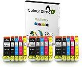 15 XL Colour Direct Ink Cartridges Replacement For Epson Expression Premium XP-510 XP-600 XP-605 XP-610 XP-615 XP-620 XP-625 XP-700 XP-720 XP-800 XP-810 XP-820 Printers.
