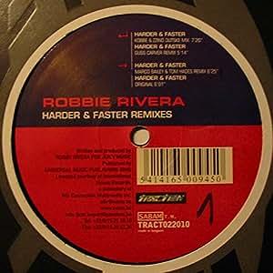 harder amp faster remixes robbie rivera amazonfr musique