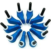 eimo 10pcs Plastic Nut M5 Discussione Wingnut Knob Vite morsetto