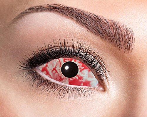 Zölibat Sclera Kontaktlinsen Blood Eye 22mm