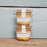 Lot de 2 foie gras de canard entier conserve 180g / unité