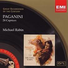 Paganini: 24 Capricen für Solo Violine