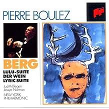 Berg: Lulu Suite, Der Wein & Lyric Suite