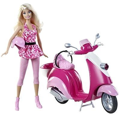 Barbie - Scooter por Mattel