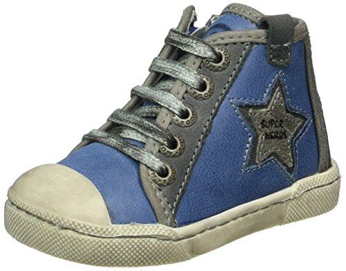 Mod8 Kamino, Chaussures Premiers Pas Bébé Garçon, Bleu (Bleu Noir), 22 EU