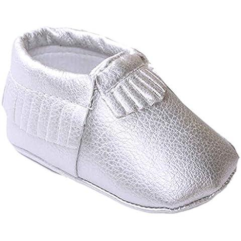 Kingko® bambino cuoio della ragazza nappe scarpe bambino morbida suola delle scarpe da tennis casuali Primavera Estate Autunno Autunno sandali
