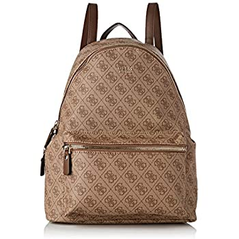 Guess Leeza, Women's Backpack, Brown, 14x38.5x30 cm (W x H L