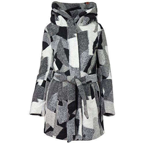 khujo Damen Mantel Narvi Multi Pattern E03