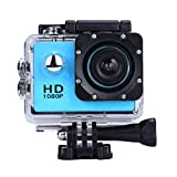 OverDose Mini 1080p Full HD-DV Sports Camcorder Car wasserdichte Tätigkeits-Kamera-Camcorder (Blau)
