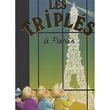 Les Triplés à Paris : Edition bilingue français-anglais