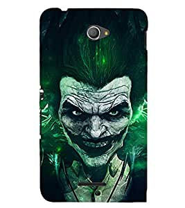 Ebby Premium 3d Desinger Printed Back Case Cover For Sony Xperia E4 (Premium Desinger Case)