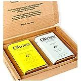 Aceite Olirium estuche latas