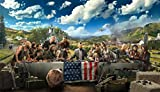 FAR CRY 5 – Textless Video Game Wall Poster Print - 30CM X 43CM Brand New Xbox PS4