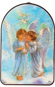 Plaque d'ange gardien. Mon ange gardien protege moi.