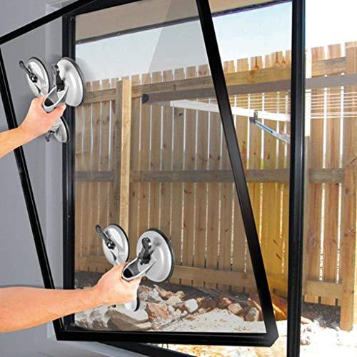 Preisvergleich Produktbild vidaXL Proplus Saugheber Aluminium mit 3 Saugnäpfen