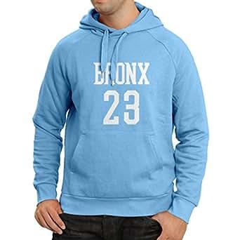 Kapuzenpullover Bronx 23 - Street Style Mode (Small Blau Weiß)